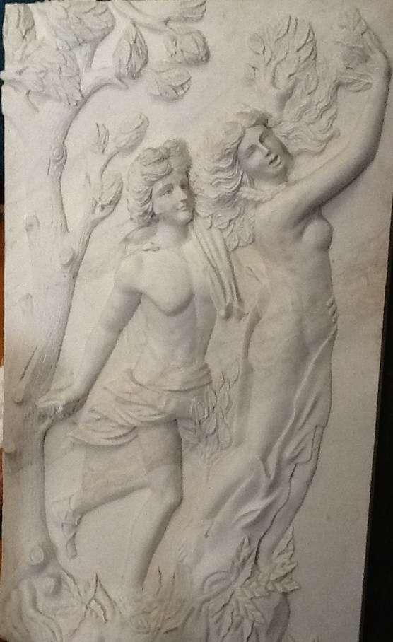 Esculturas, bajo relieve de mármol oferta