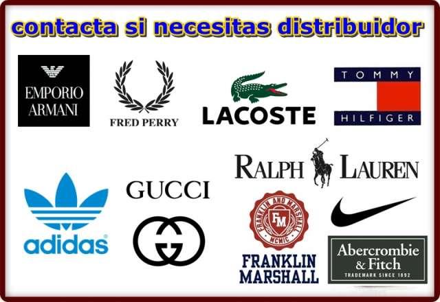 Ropa de marca alta calidad, distribuidor