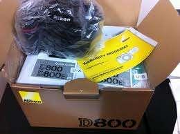 Nikon d800e digital de formato medio cámara dslr