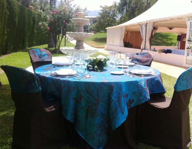 Fotos de Manteleria para fiestas, bodas y eventos 4