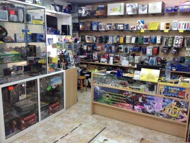 Tienda de videojuegos muy centrica en barcelona