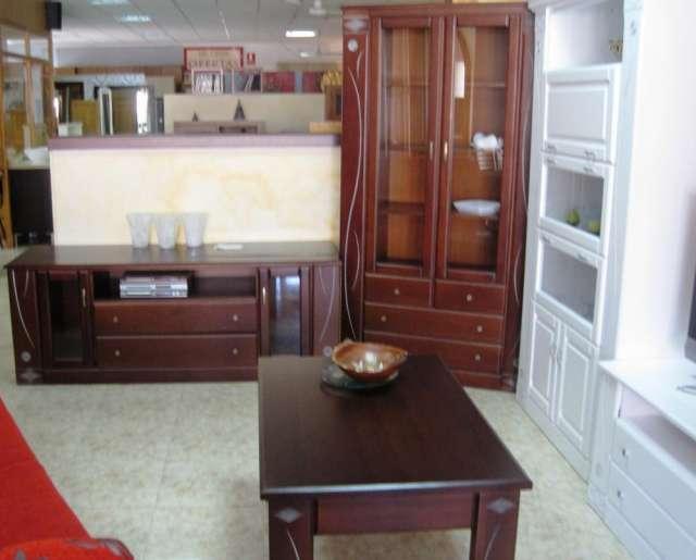Liquidación de muebles de madera