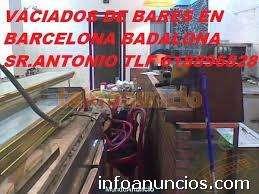 Vaciado de locales en barcelona tlf 618896828