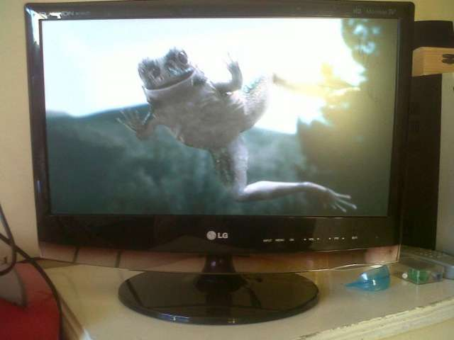 Vendo televisor lg hd modelo flatron
