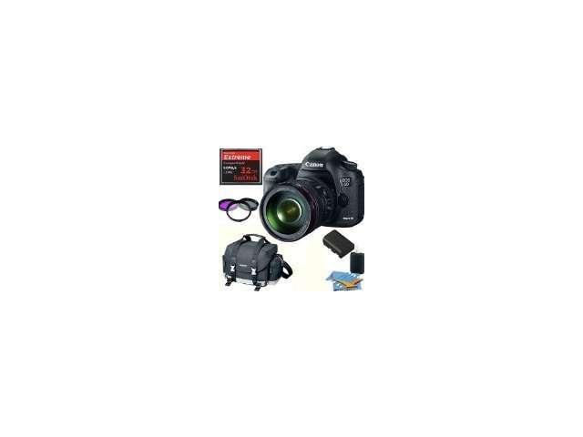 Canon eos 5d mark iii 22.3 mp encuadre completo cmos digital slr con lente 24-105
