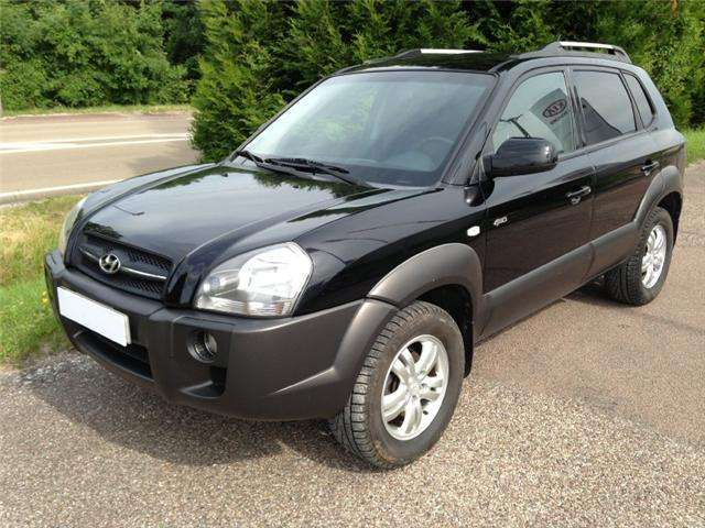 Hyundai tucson 2.0 crdi 4 x 4 luxury pack