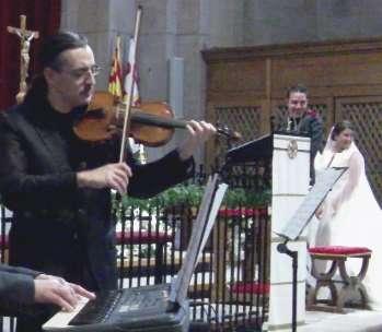 Violinista en barcelona - música bodas y eventos