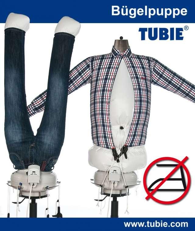 Tubie ? la maniquí de planchado