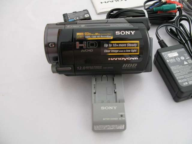 Camara de video digital sony hdr-xr500ve como nueva
