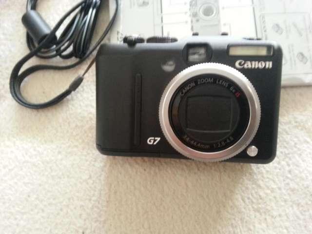 Camara digital canon g7 como nueva