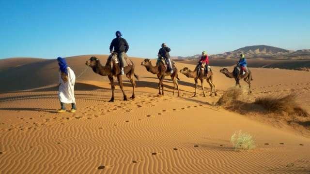 Ruta desde fez 5 dias/4noches terminar : marrakech