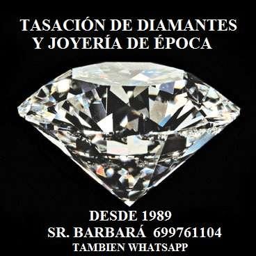 Tasaciones o compra de diamantes y joyería de época