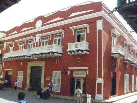 Cartagena de indias - casa colonial finales siglo xvii
