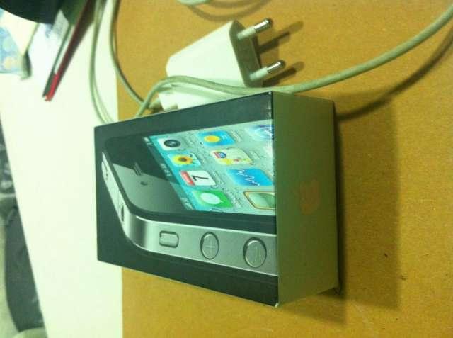 Chollazo iphone 4g negro con caja y cargador como nuevo por 200 pavos negociables