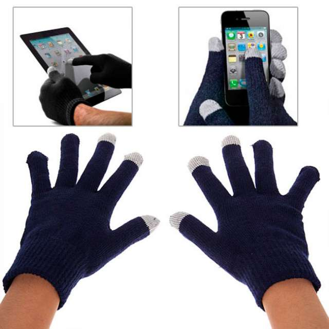 Guantes para teléfonos móviles y tablets todas pantallas para ipad, iphone, android, windows