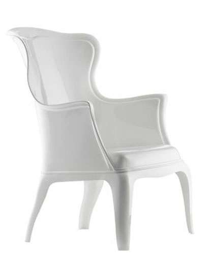 Sillon de pasha en color blanco