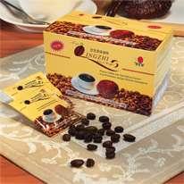 Café, té y otros productos con ganoderma