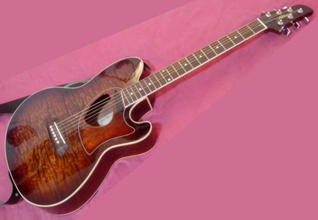 Guitarra electroacústica ibanez tcm50e-vbs
