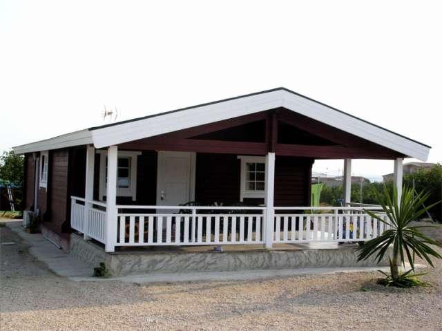 Financiamos su casa de madera