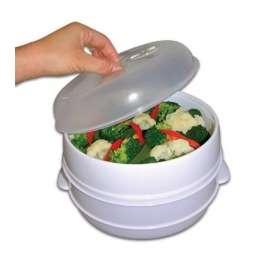 Fotos de Envase para cocinar al vapor microwave steamer 1