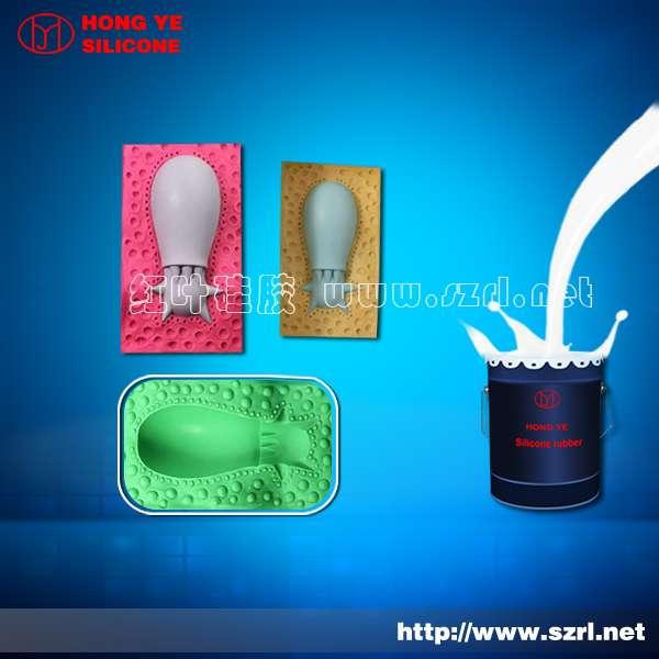 Caucho de silicona del moldeo manual
