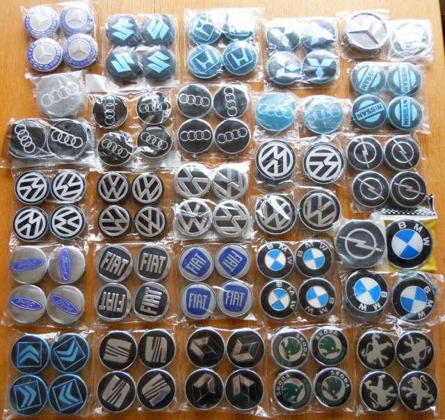 Emblemas para llantas de aleación volkswagen, audi, mercedes, bmw