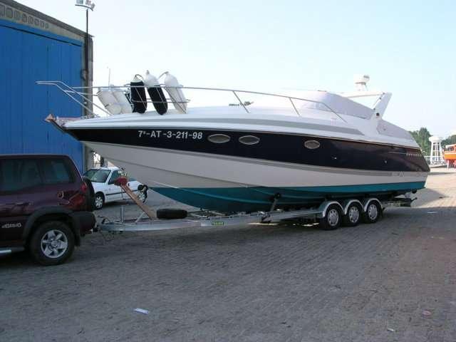 Remolques náuticos de aluminio para grandes barcos, thalman trailers