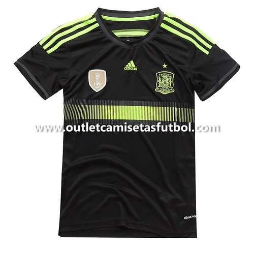 Camisetas espana copa mundo 2014 segunda equipacion