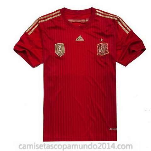 Camisetas espana copa mundo 2014 primera equipacion