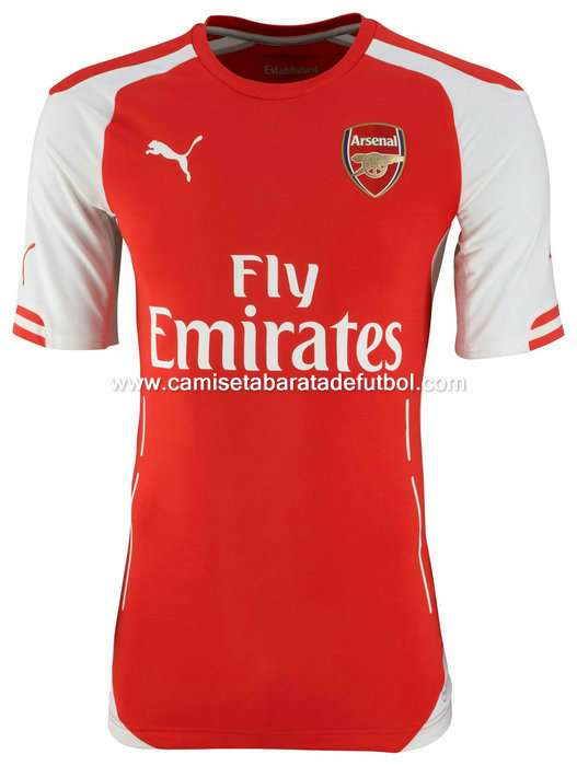 Camiseta del arsenal 2014-2015