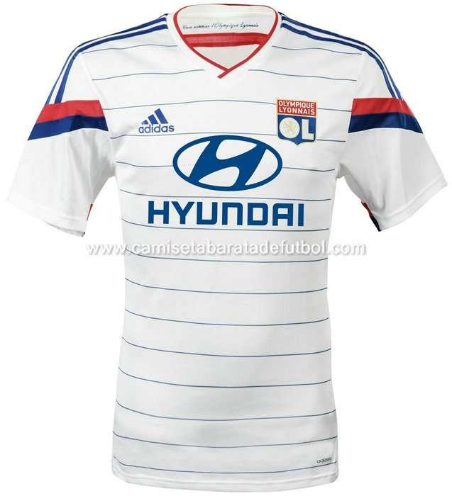 Camiseta del olympique de lyon 2014-2015
