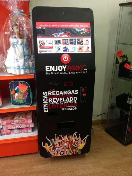 Kiosco fotográfico con canalización lotería, recargas, liberalizaciones?
