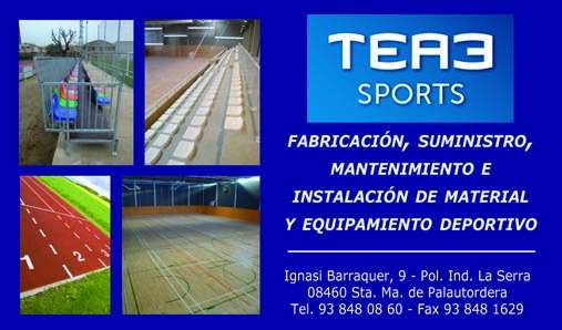 Tea3 sports; equipamientos deportivos