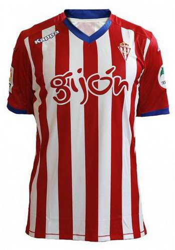 Camiseta sporting de gijon primera equipacion 2015