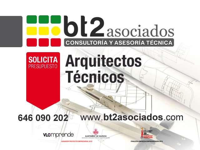 Arquitecto técnico valencia contacta a bt2 asociados