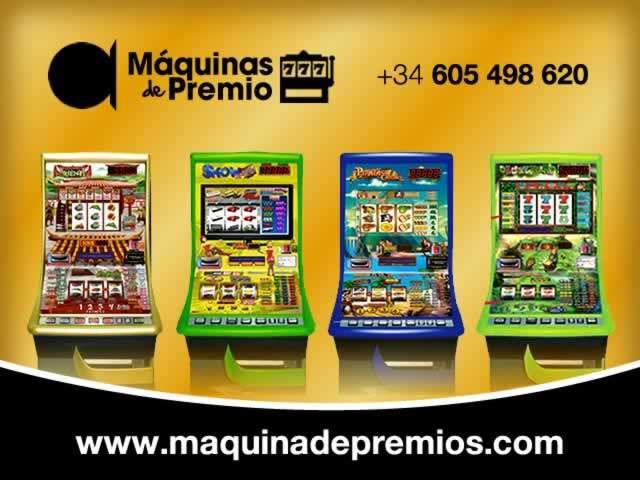 Empresa líder en distribución de máquinas recreativas o slot machines con premios en metálico