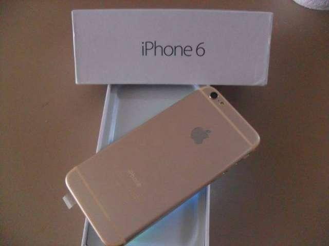 Teléfono inteligente de apple iphone 6 gold plus 64gb