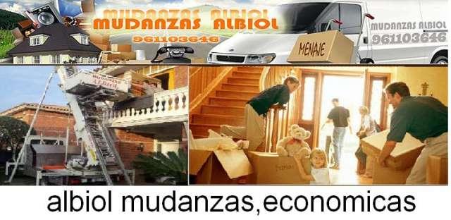 Mudanzas albiol economicas en valencia