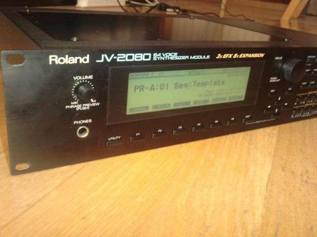 Sintetizador roland jv-2080 nuevito