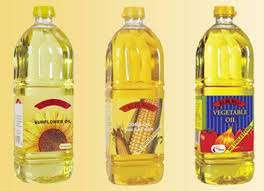 Aceites comestibles para los compradores interesados