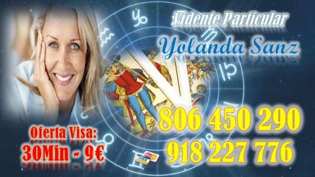 Vidente sin gabinete 30min 9 euros te espero