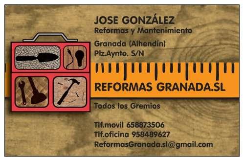 Reformas y mantenimiento granada