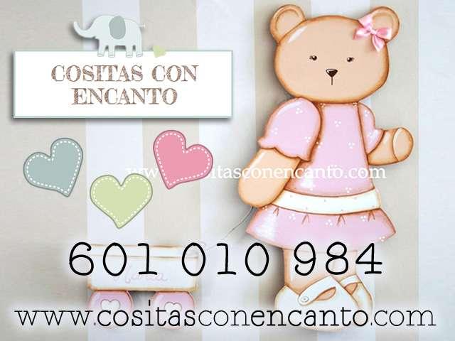 Cuadros infantiles personalizados con el nombre del bebe: cositas con encanto