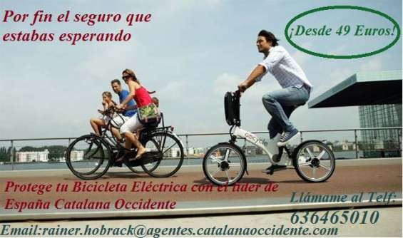 Seguros para bicicletas eléctricas