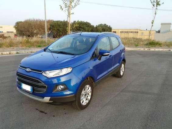 Ford fiesta ecosport 1.500 tdci 90 cv diesel