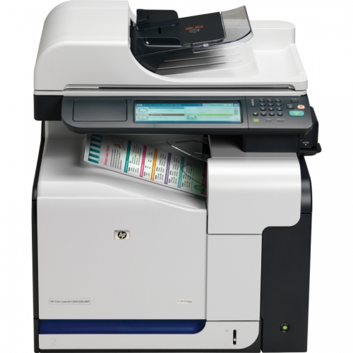 Impresora láser hp color laserjet cm3530 mfp