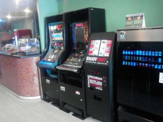 Canalización de loterías, recargas, pines para juegos y más en una sola máquina