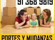 FLETES DE MOBILIARIO(91)3689*819 MUDANZAS ECONOMICAS EN VILLAVERDE