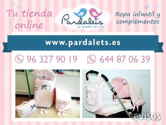 Pardalets ropa para bebés y niños valencia
