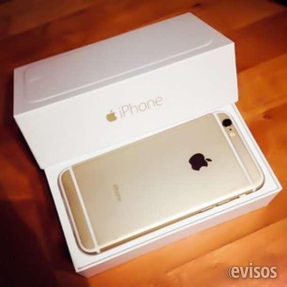 Apple iphone 6 plus gold (último modelo) 128 gb